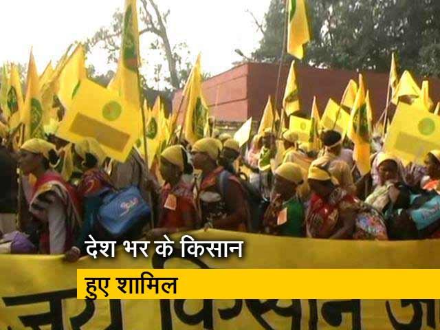Videos : रामलीला मैदान से संसद तक मार्च