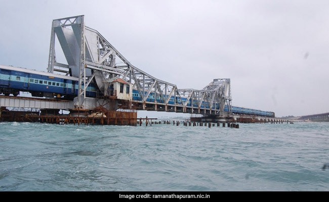 India's First Vertical-Lift Bridge To Reconnect Rameswaram With Mainland