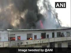 At Least A Dozen Godowns Destroyed In Fire At Maharashtra's Bhiwandi