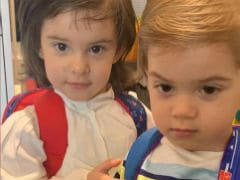 Karan Johar's Twins Roohi And Yash Are Ready For School But First, A Pic