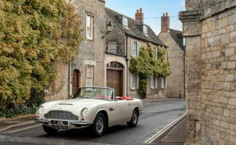 Aston Martin unveils reversible EV conversion for heritage cars