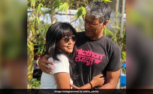 Milind Soman And Ankita Konwar's New Pic Will Definitely Make You Go Aww