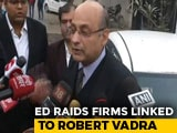 "Video : Robert Vadra, Aides Raided, He Says ""Politics Of Revenge"""