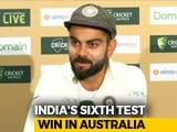 Video: Cheteshwar Pujara Was The Difference Between India And Australia, Says Virat Kohli