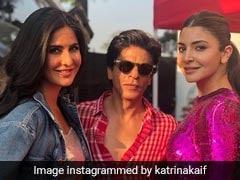 <I>Zero</I>: Katrina Kaif 'Feels Fortunate To Be Part Of The Film And Working With Shah Rukh Khan And Anushka Sharma'