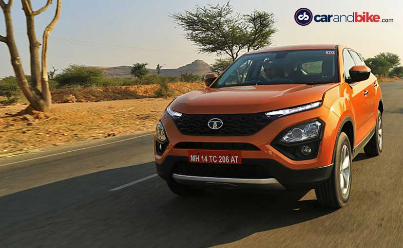 Tata Motors started accepting bookings for the Harrier on October 15, 2018.