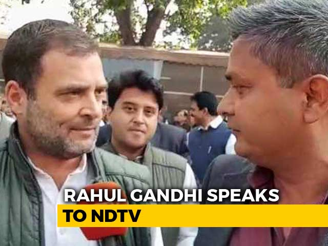 Video : Let Parliament Panel (JPC) Probe Rafale Deal, Everything Will Be Clear: Rahul Gandhi