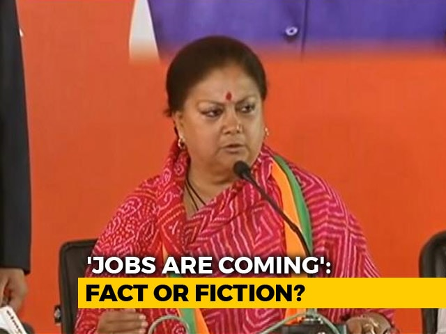 Video : In Election Season, 'Mystery' Promises Of Jobs Haunt Political Parties