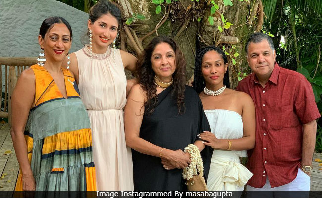 Life's A Beach For Neena Gupta And Masaba In Maldives. See Pics