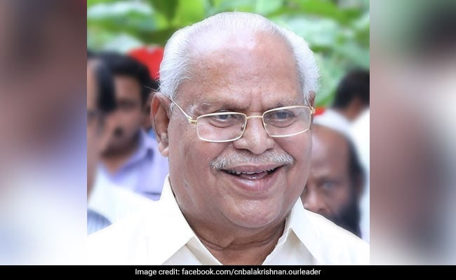 Senior Kerala Congress Leader CN Balakrishnan Dies At 87