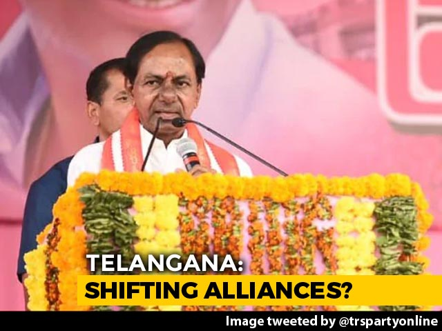 Video : After Exit Polls, KCR's Party Scoffs At BJP Advances In Telangana