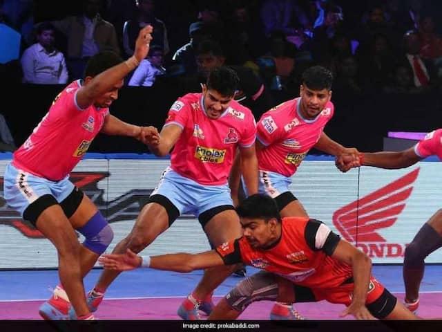 Pro Kabaddi League: Bengaluru Bulls Register Convincing Win Over Jaipur Pink Panthers