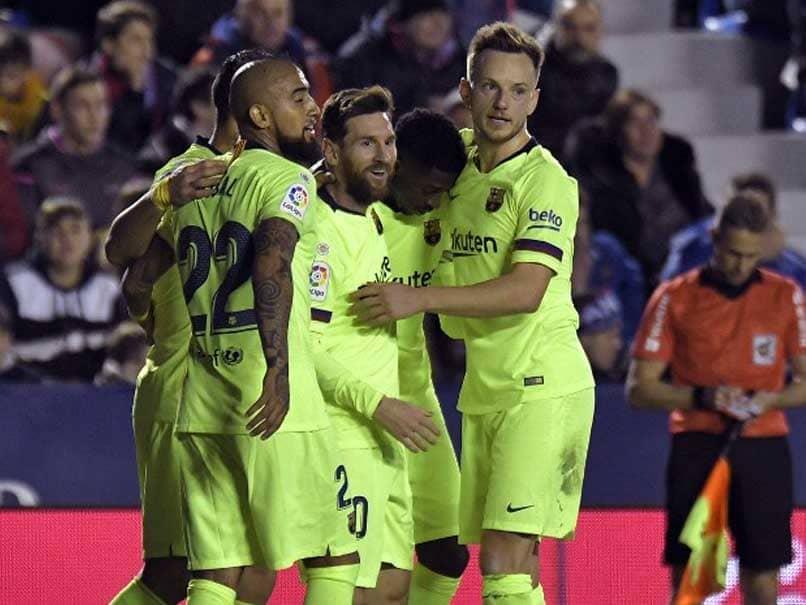 Lionel Messi Hat-Trick Restores Barcelonas La Liga Lead