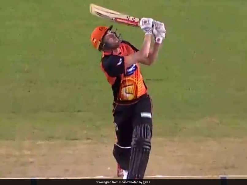 Rajasthan Royals New Recruit Ashton Turner Hits The Stadium Roof. Watch Video