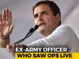 "Video : ""Like A True Soldier"": Rahul Gandhi Attacks PM After Officer's Criticism"