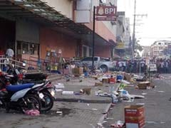Bomb Outside Shopping Centre Kills Two, Wounds 28 In Philippines