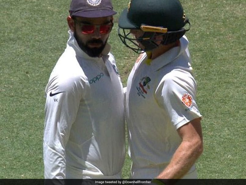 Australian Fans Attack Virat Kohli On Twitter For Verbal Battle With Tim Paine. Watch Video