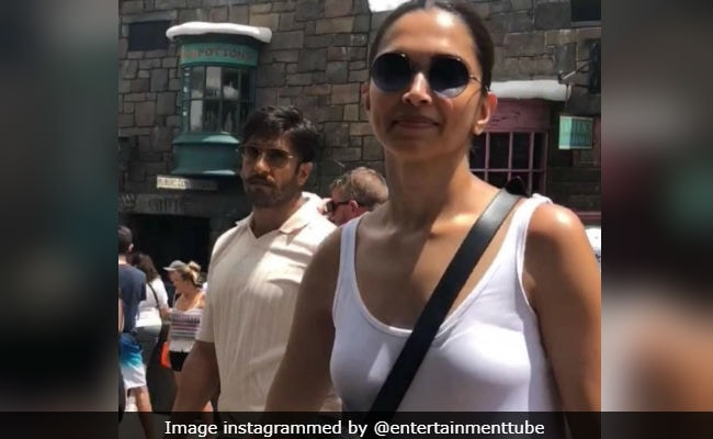 That Deepika Padukone Ranveer Singh Orlando Video? It Was'The Bachelors Crashing The Bachelorette