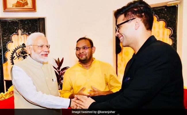 A Film Delegation Met PM Narendra Modi. Karan Johar Describes It With This Tweet