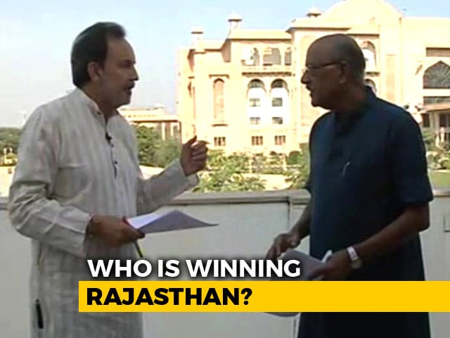 Video : Can Congress Topple Vasundhara Raje In Rajasthan? Prannoy Roy's Analysis