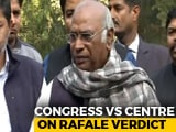 "Video : ""Where Is CAG Report On Rafale Deal? Show Us"": Congress Ramps Up Attack"