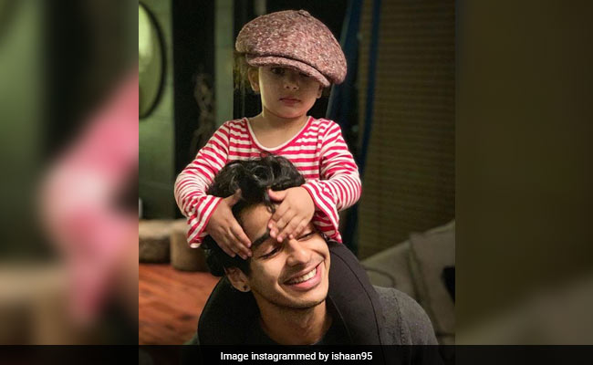 Ishaan Khatter's Well-Spent Sunday With Niece Misha Summed Up In One Pic