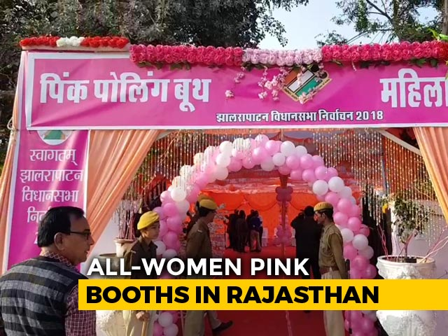 Video : In A First, Rajasthan Gets Over 250 All-Women's Booths