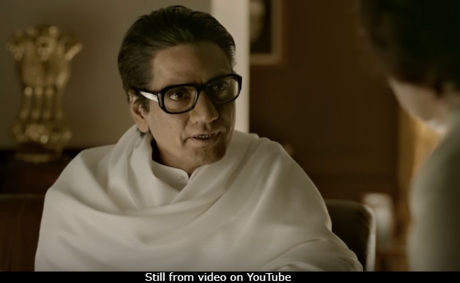 Thackeray Trailer: Nawazuddin Siddiqui Is Balasaheb Thackeray's Spitting Image In Biopic