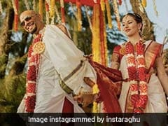 Raghu Ram Marries Natalie Di Luccio. Stunning Pics From Beach Wedding