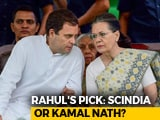 Video : Gandhis Discuss Madhya Pradesh, Rajasthan Amid Tense Race For Top Job