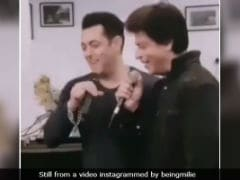 An Old Video Of Salman Khan And Shah Rukh Khan Singing Together Is Going Viral