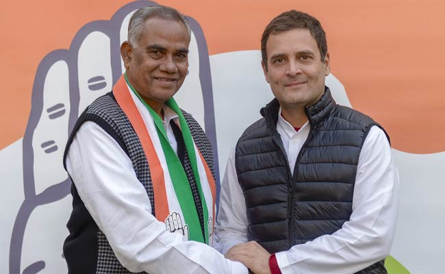 JDU's Jharkhand State President Joins Congress, Welcomed By Rahul Gandhi