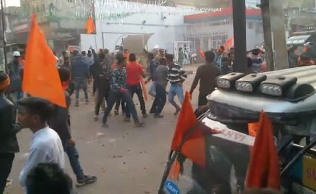 Stone-Throwing, Clashes At Jharkhand Town During Shaurya Diwas Rally