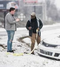 Trains, Flights Canceled As Snowstorm Hits Areas South Of Washington, DC