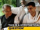Video: Amid Exit Poll Cheer For Congress, Ashok Gehlot Dodges Rajasthan Question