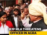 "Video : ""Don't You Realise My Power?"" BJP Lawmaker Threatens Officer On Camera"