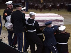 George HW Bush, President And Servant-Statesman, Laid To Rest In Texas