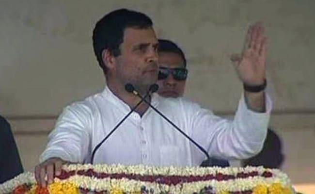 PM Modi Creating 2 Indias, One For Ambani, One For Farmers: Rahul Gandhi