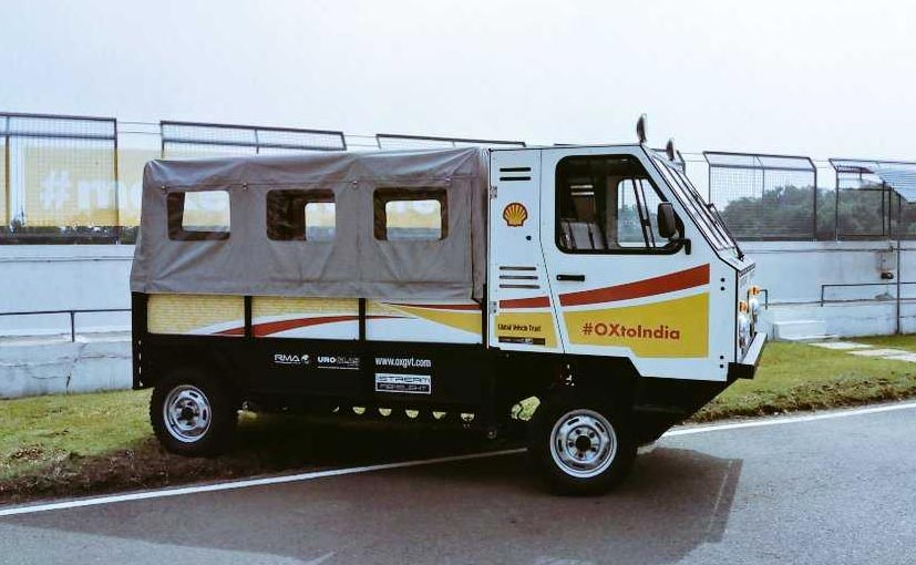 OX Flat-Pack Kit Truck Showcased In India
