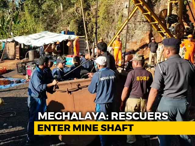 Video : On Day 19, Navy Divers Reach Bottom Of Meghalaya Mine
