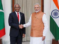 PM Modi Holds Talks With Maldivian President To Strengthen Bilateral Ties