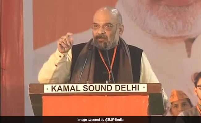 'AAP Rubbing Salt On Wounds Of Victims Of 1984 Riots,' Says Amit Shah