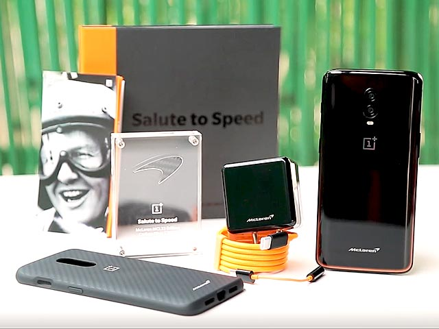 Video : OnePlus 6T McLaren Edition Unboxing And First Look