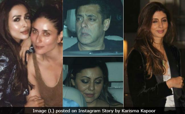 Inside Salman Khan, Kareena Kapoor, Gauri Khan, Shweta Bachchan Nanda, Malaika Arora's Christmas Celebrations