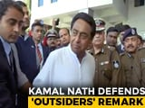 "Video : ""Happens Everywhere"": Kamal Nath Stands By Job Policy Favouring Locals"