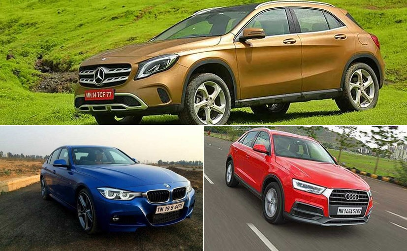 Audi, BMW and Mercedes-Benz are providing offers on their existing portfolio