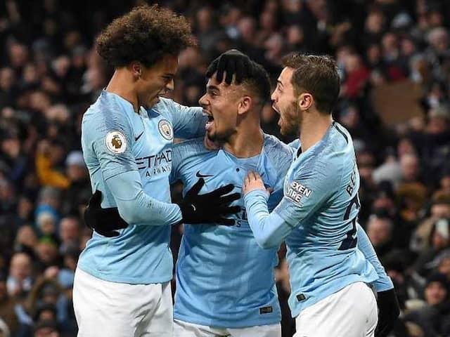 Premier League: Gabriel Jesus Fires As Manchester City Snatch Top Spot From Liverpool