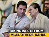"Video : Who As Chief Minister? ""Ask Rahul,"" Sonia Gandhi Said. His Response..."