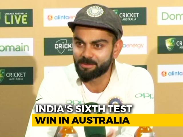 Video : Cheteshwar Pujara Was The Difference Between India And Australia, Says Virat Kohli
