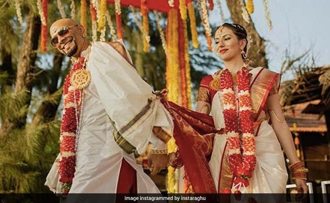 Raghu Ram Marries Natalie Di Luccio. Stunning Pics From Beach Wedding